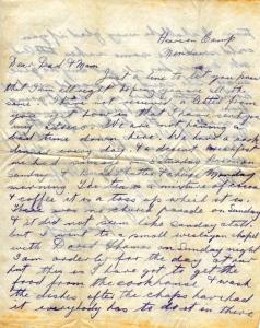 GCR's Pre Field Letter #1