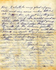 GCR's Pre Field Letter #2